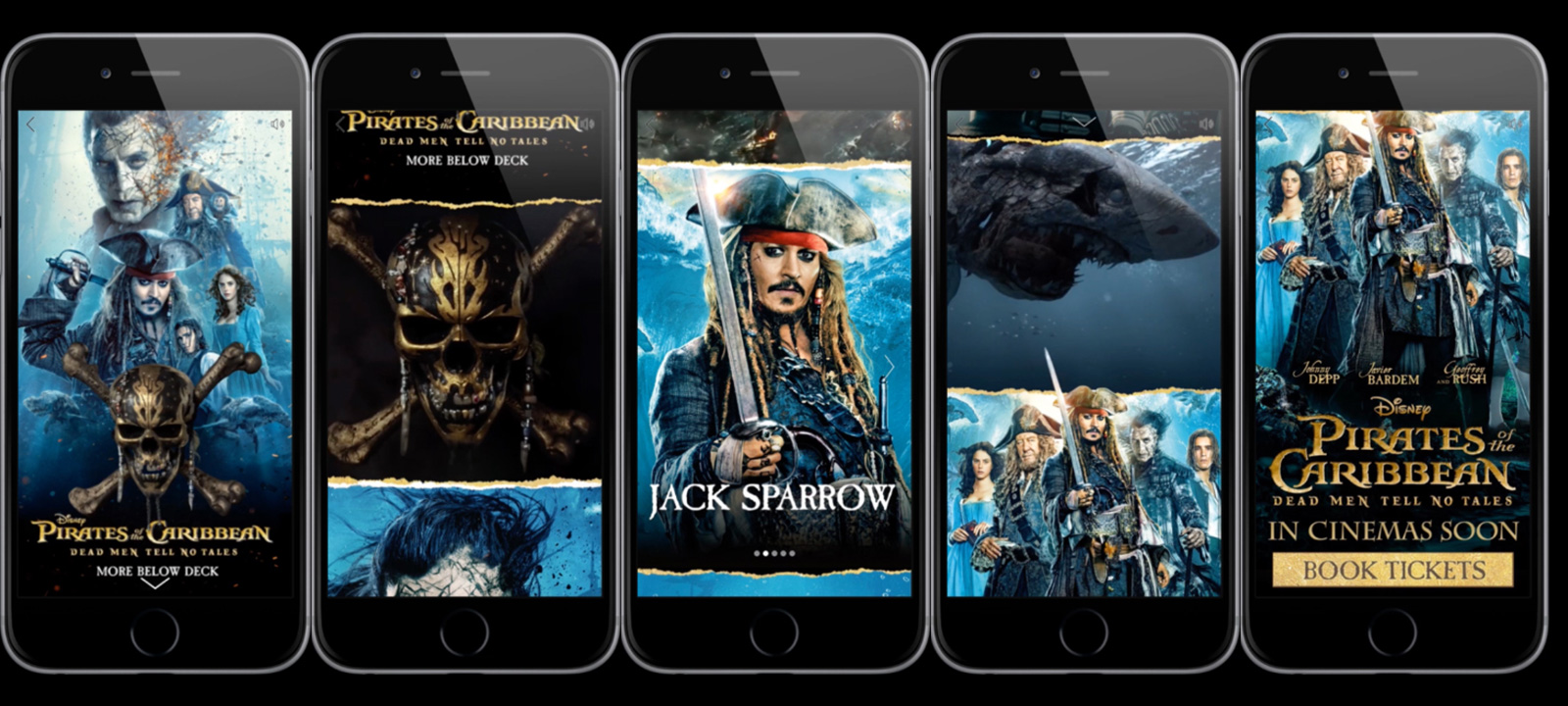 Pirates of the Caribbean Canvas Ad