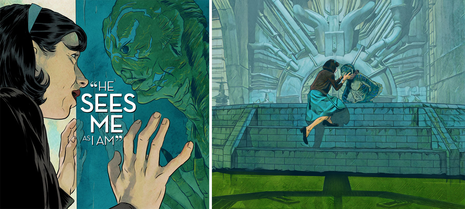 The Shape of Water digital comic